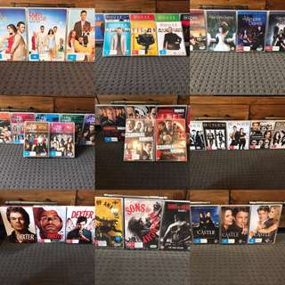 Tv Shows Brand New & Watched!