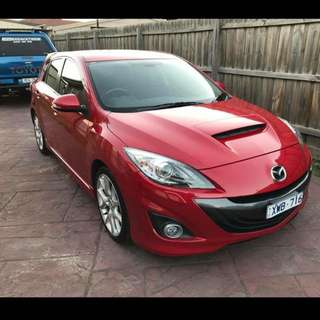 2010 Mazda 3 MPS 2.3ltr Turbo