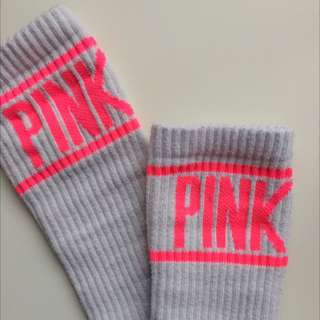 VS PINK Knee High Varsity Sock