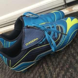 Blue Soccer Cleats (new)