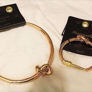 Abercrombie & Fitch Bracelet And Necklace Set
