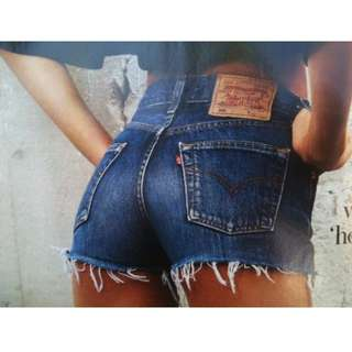 Levi's 501 High-waisted shorts