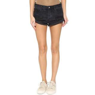 One Teaspoon Fox Black Bandit shorts
