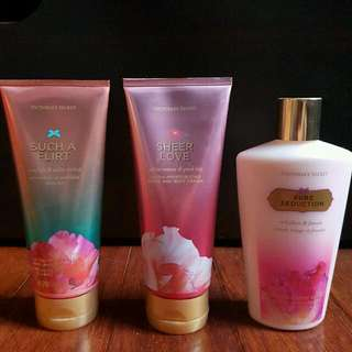 Victoria's Secret Assorted Hand And Body Cream