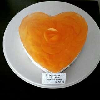 Jelly Heart / Fruit Cheesecake