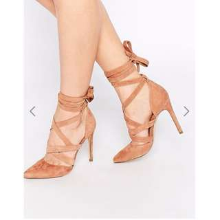 Aldo Nude Strappy Shoes