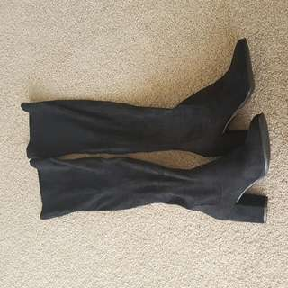 Glassons Size 8 Over The Knee Pull On Boots - Unworn