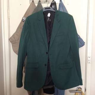 Zara Man Sports Jacket Green