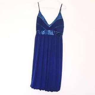DOTTI - Beautiful Blue Party Dress