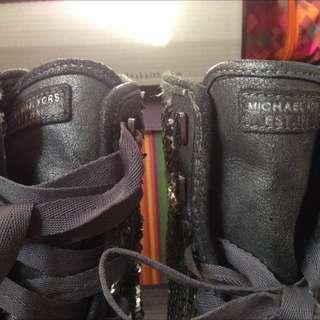 ORIG MK Hi-Cut Sneakers W/ Sequence