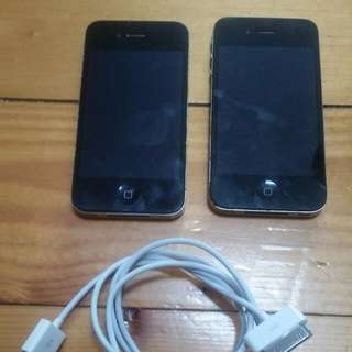 2x iPhone 4