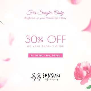 Valentine's Day Singles Promo