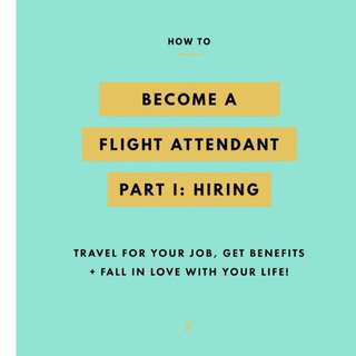 Flight Attendant Coach! Let Me Help You Achieve Your Dreams In The Sky👍🏻😊