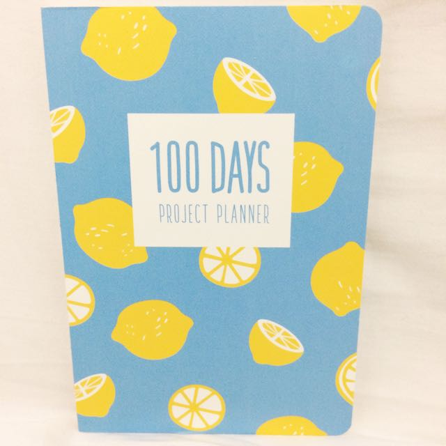 100 Days Project Planner