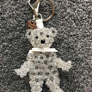 Prada Bear Key Ring Charm