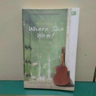 Novel - Where She Went