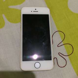iPhone 5s Gold 16GB Smartlocked REPRICED