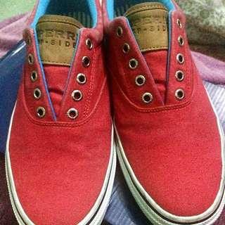 Sperry Topsider CVO Red
