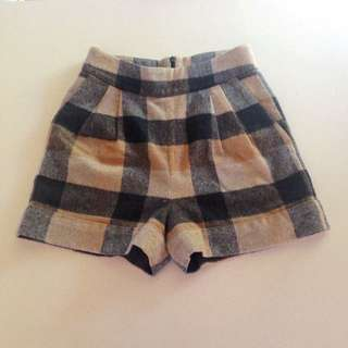 GORMAN tartan High Waisted Shorts