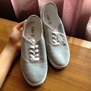 Jual Rugi RUBI Grey Plimsole Shoes
