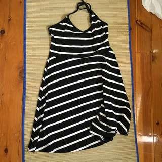 Cotton On Striped Dress - Size Medium