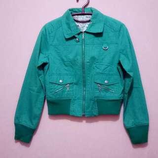Shine Green Jacket