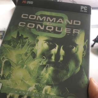 Command And Conquer 3 PC DVD