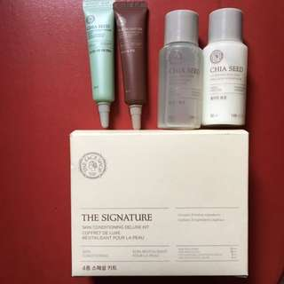 Face Shop Skin Conditioning Deluxe Kit #MegaMay