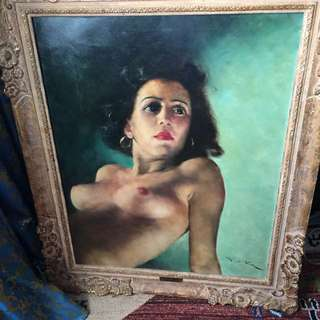 The Gipsy Queen by Fried Pal Original oil painting negotiable