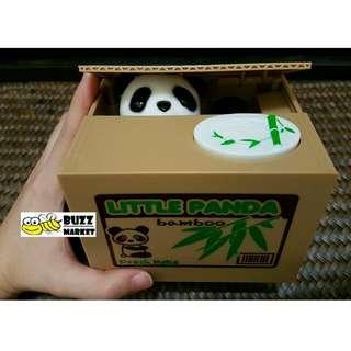 Panda And Cat Coin Saving Bank