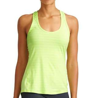 🚚 BNWT Athleta Chi Tank Varied Stripe (Luminous Green) (Size XS)