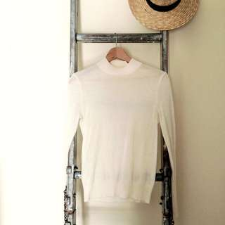 Willow Extra Fine Merino Knit - Cream M