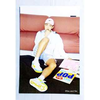 [RARE] BTS Official Undercover Mission Poster - Rap Monster