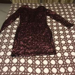 Fully Sequined dress from H&M