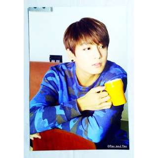 [RARE] BTS Official Undercover Mission Poster - Jung Kook
