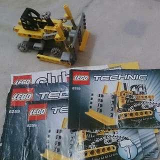 Lego Technic 8259 Mini Bulldozer