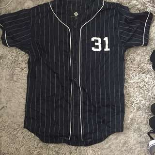 Dark blue/navy Jersey top