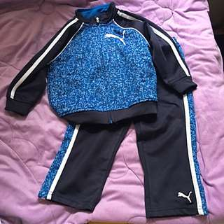 Puma Track Jacket And Pants Set 2T