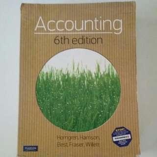 Accounting 6th Edition by Horngren, Harrison, Best, Fraser, Willett
