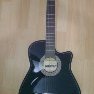 Congress Acoustic Guitar with Nylon Carrier Bag