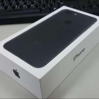 iPhone7 Plus 32G 霧面黑