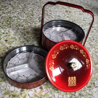 Chinese Tingkat Candy Holder