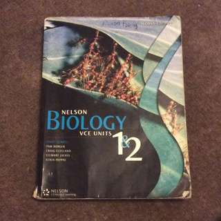 Nelson Bioloy VCE unit 1&2 2nd Ed