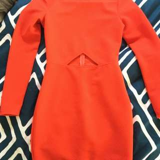 XS Talulah Isla Orange Dress