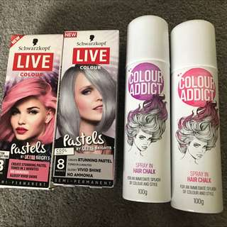Hair Chalk Color Spray