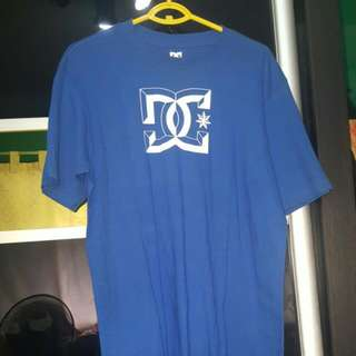 Authentic DC Blue Tshirt For Skaters