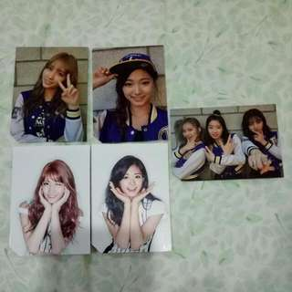 Twice Page Two Photocards