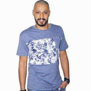 Men's T-shirt With Floral Printed