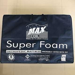 Max Coil 4-inch Foldable Mattress