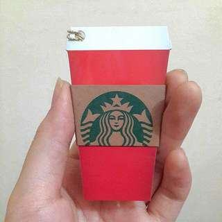 Starbucks Red Cup Christmas Card